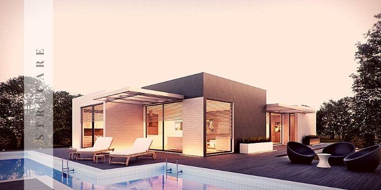 Prefabrik ev modelleri ve içi