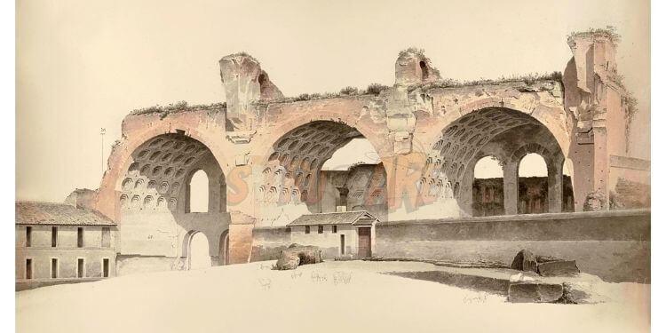 antik roma mimarisi harç