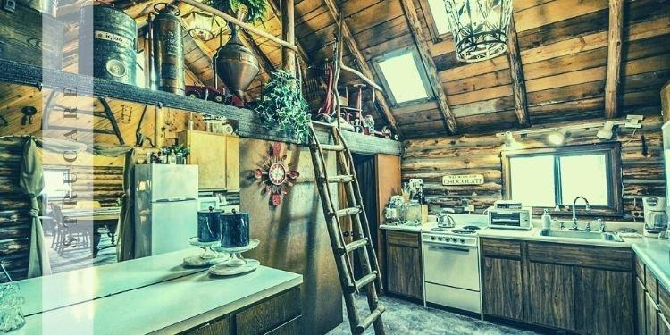 bungalov ev mutfağı