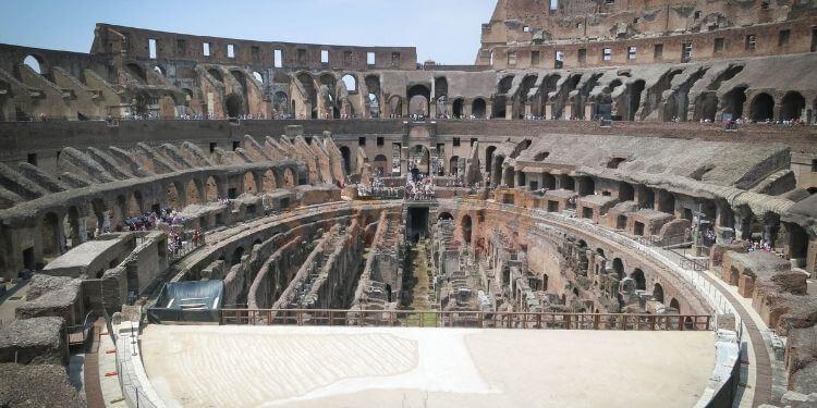 antik romalı mimari örnekleri